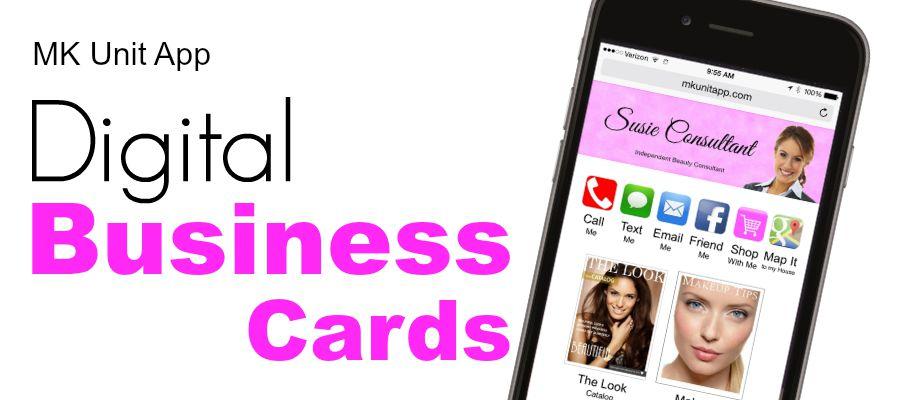 Digital business cards colourmoves